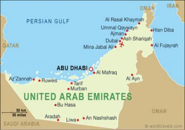Poloha Hranice Poust A Hlavni Mesto Emiratu