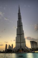 Dubajská budova Burj Khalifa