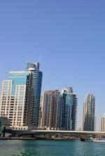 Část dubajského poloostrova Palm Jumeirah