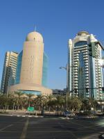 Budova telekomunikační společnosti Etisalat v Abu Dhabi